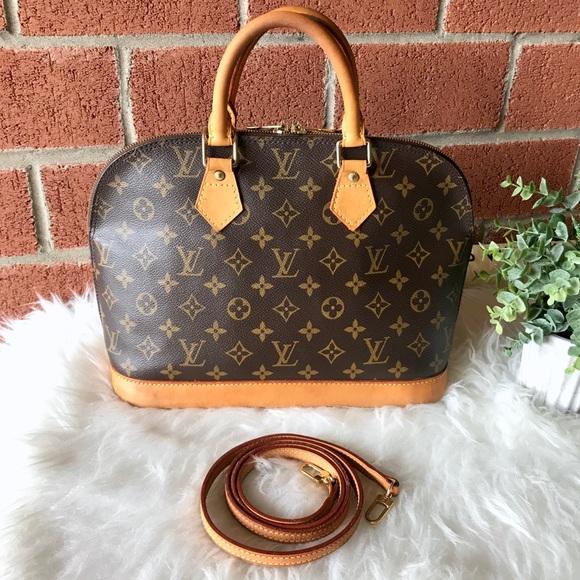 Louis Vuitton Handbags - LOOK 😍 Louis Vuitton Alma PM Monogram Satchel Bag